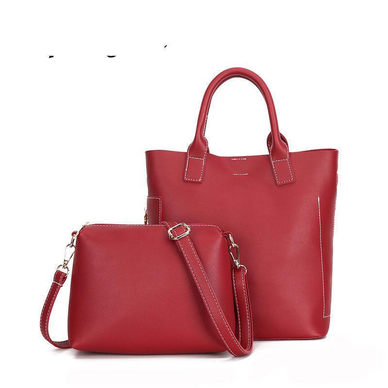40f85246860e5 Satın Al Moda Değeri Iki Parça Kollu Anne Çantası Yeni Vahşi Basit  Taşınabilir Çanta Kişilik Mizaç Tek Omuz Messenger Çanta, $53.71 |  DHgate.Com'da