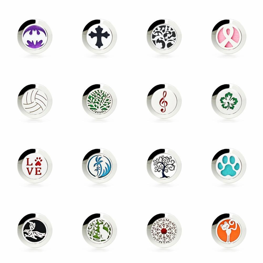 New Christmas Gifts Magnetic brooch Perfume Locket Pendant Essential Oil Diffuser Women brooch Dropshipping