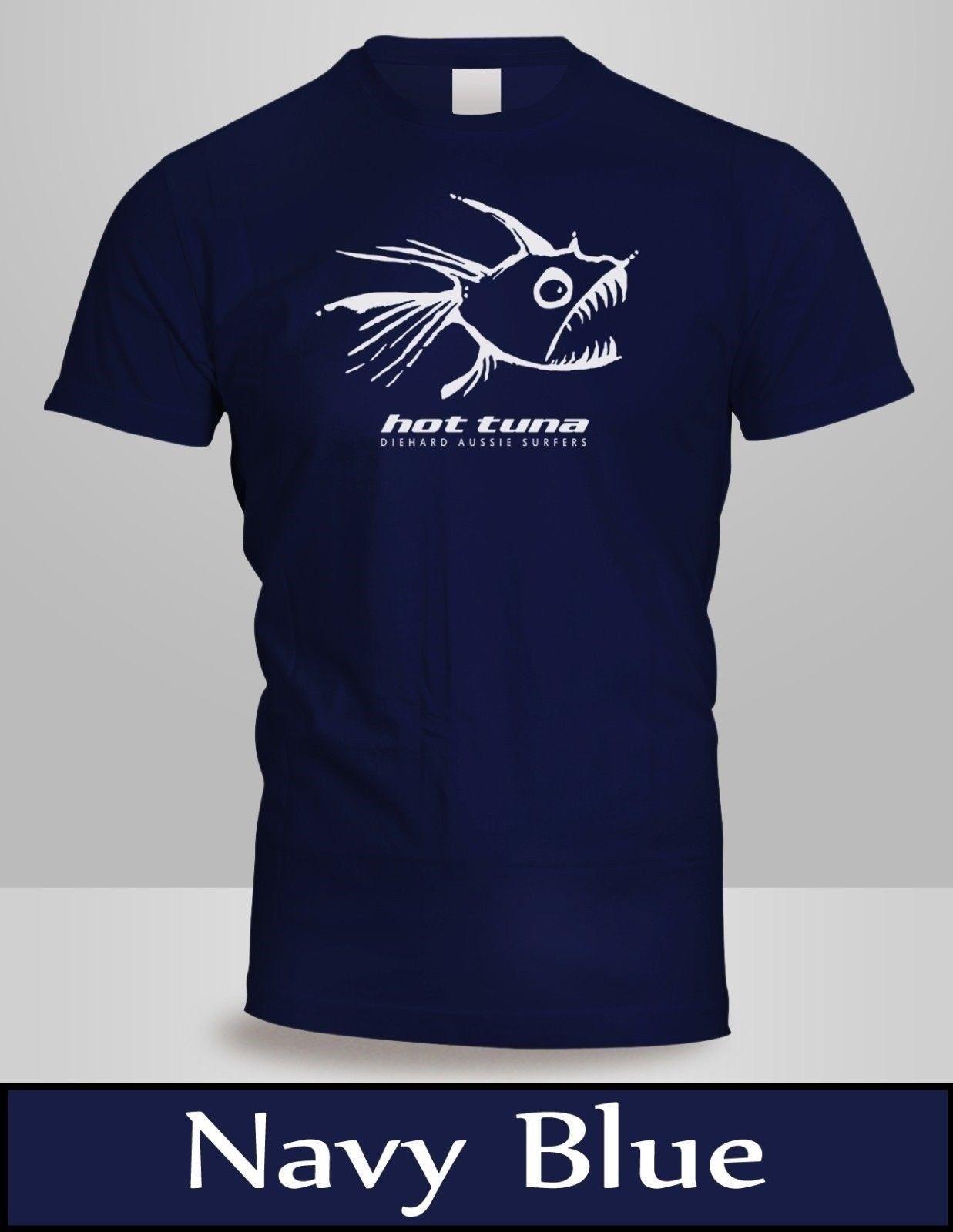 3687d7780 HOT TUNA T-SHIRT Men's Navy Blue TOP Shirt New 2 Cool Casual pride t shirt  men Unisex New Fashion