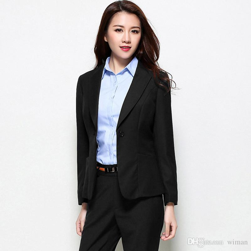 2019 2019 New Style Women S Small Suit Button Coat Female