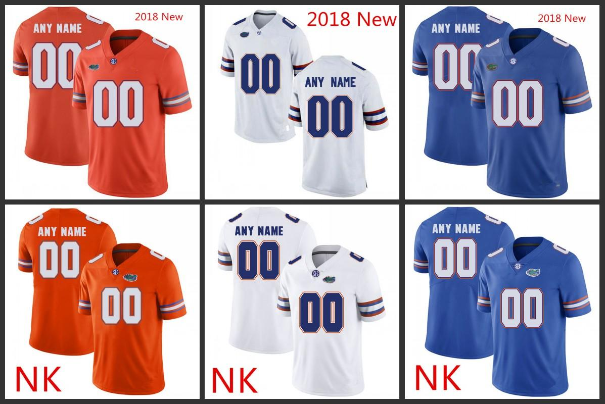 detailed look f3b0e 37c61 Custom Florida Gators Football Jersey Feleipe Franks Martez Ivey Tyrie  Cleveland Johnny Townsend Emmitt Smith Florida Chauncey Gardner-Johns