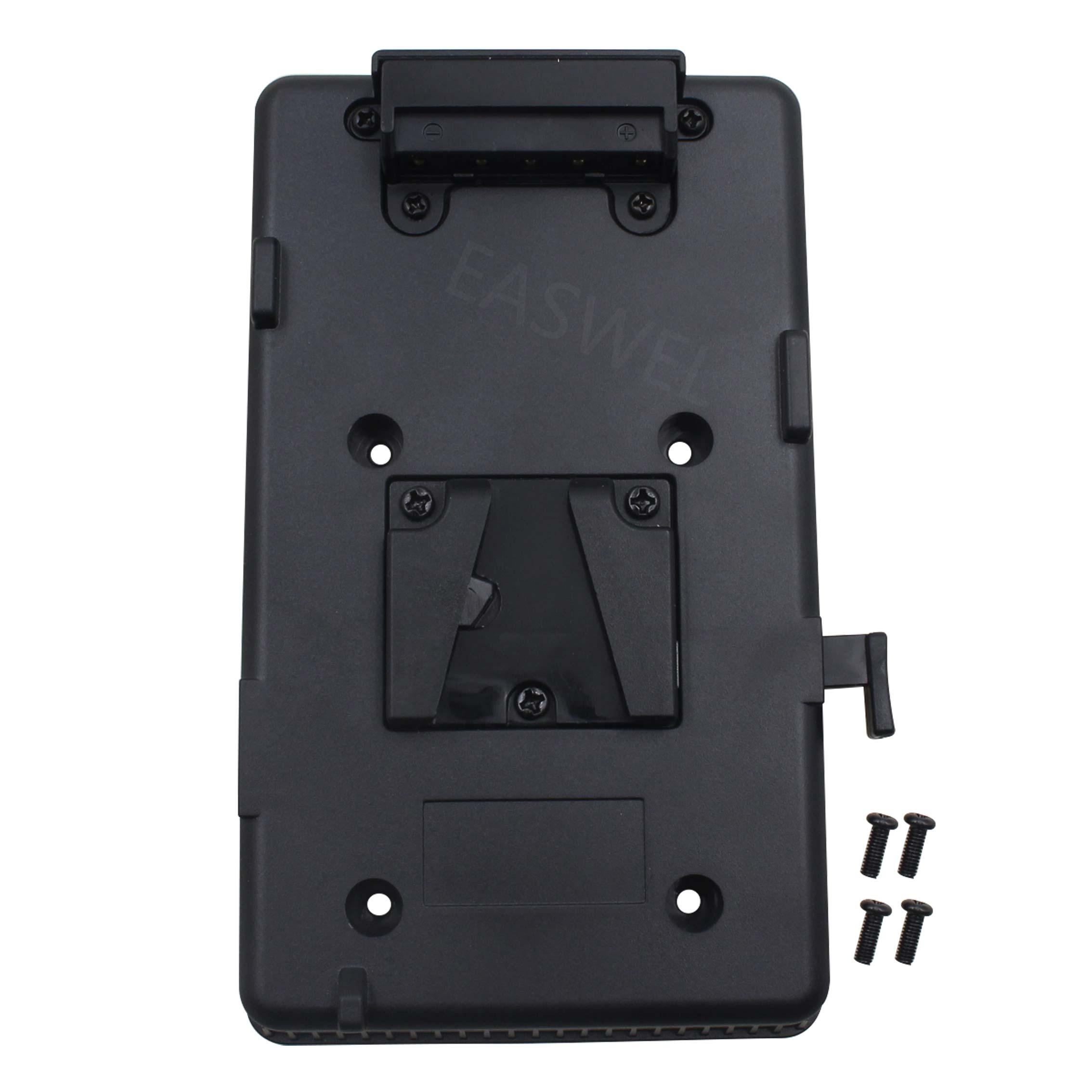 V mount V-lock D-Tap BP Battery Plate Adapter for Sony DSLR DV SLR Video Camera