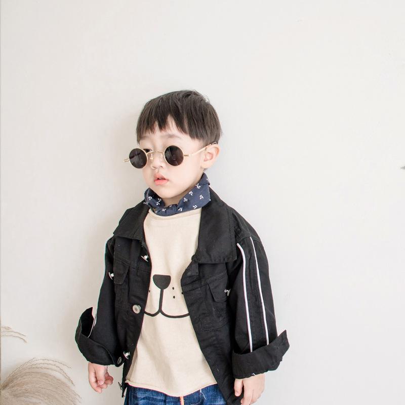 dd0f53d0d Boy Jacket 2018 Spring Autumn Jacket For Boy Cotton Coat Lapel White ...