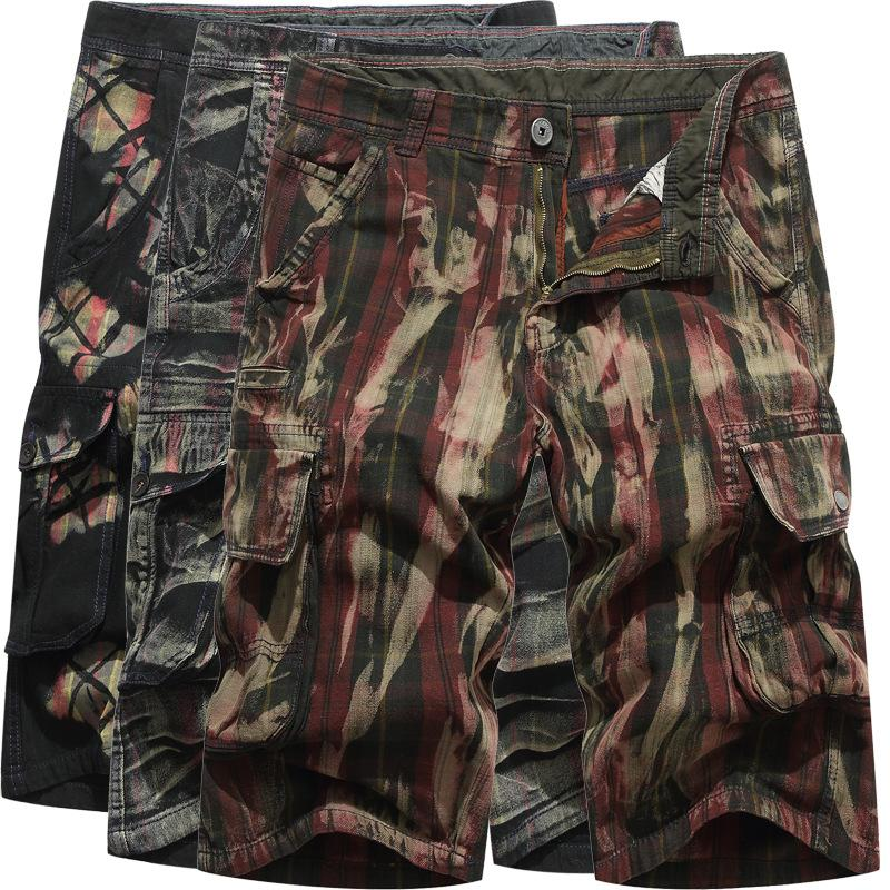 02cddce6f8c 2019 New Camouflage Loose Cargo Shorts Men Cool Camo Summer Short ...