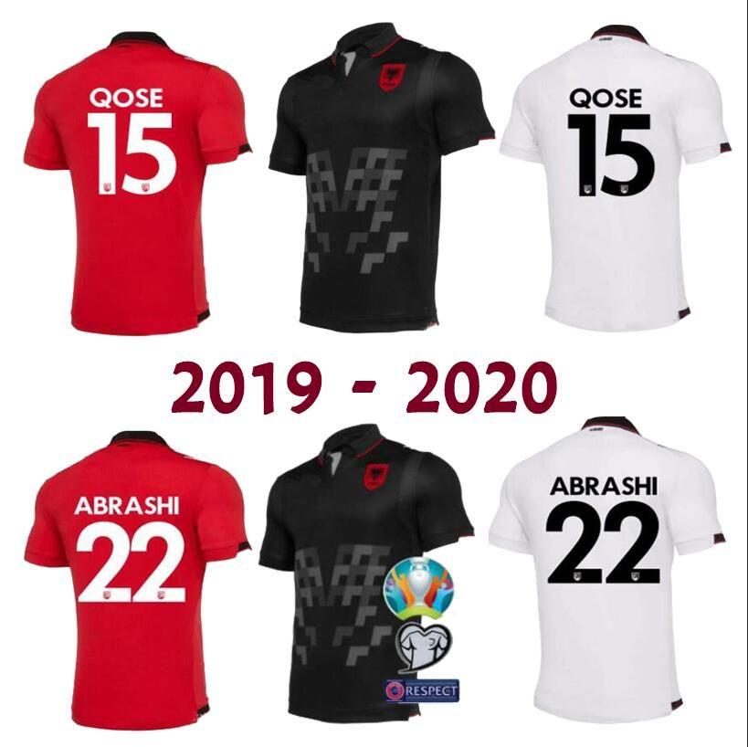 b7e8c50df 2019 SIZE S XXL Republic Of Albania 19 20 Albania Home Away Soccer Jersey  QOSE ABAZAJ HYSAJ ABAZAJ Shirt Camiseta Real Madrid Football Jerseys From  ...