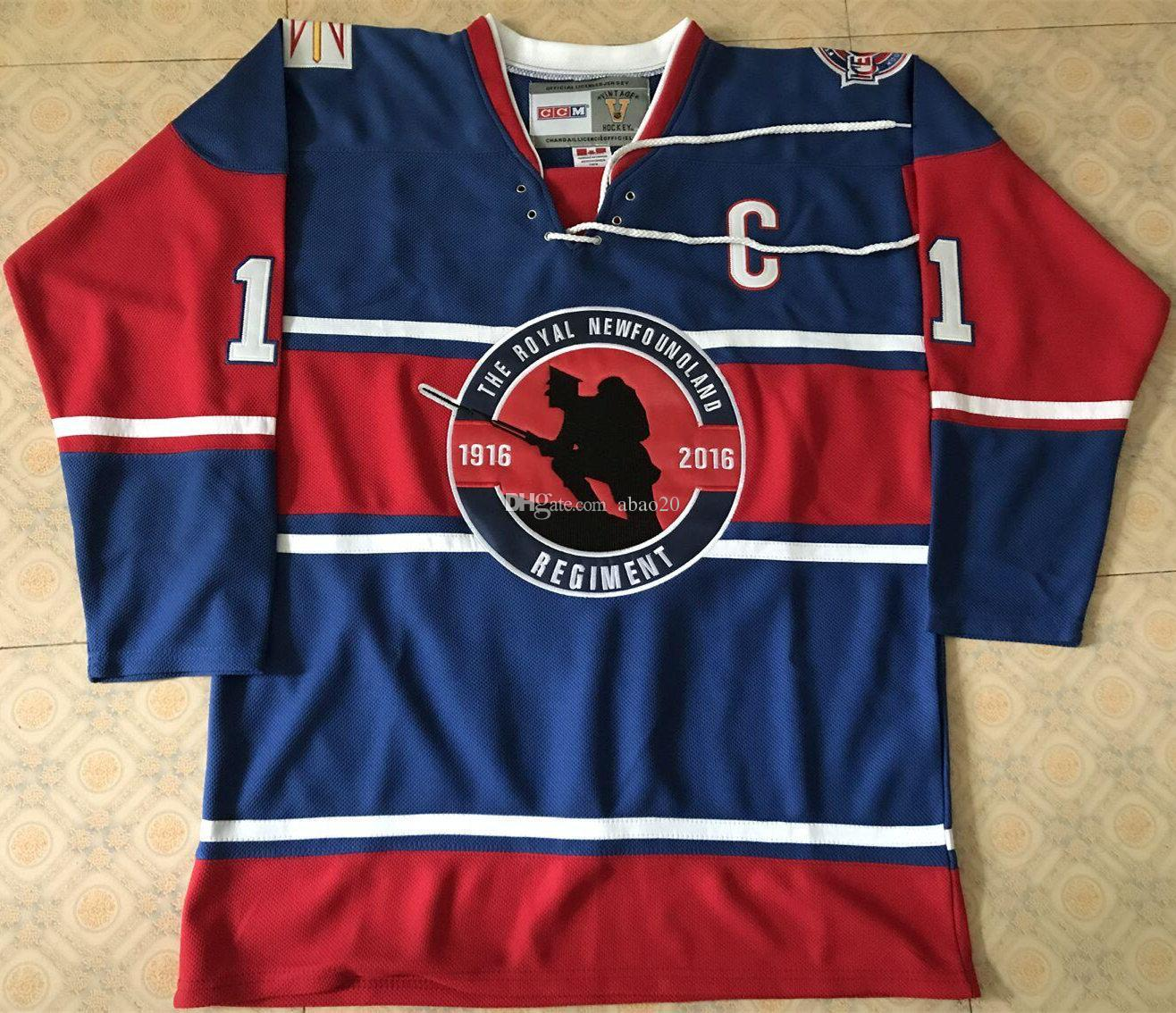 f74c41b8c32 ... Reebok Premier Navy Blue St. John\u0027s ... 2019 St. John\u0027S  IceCaps The Royal Newfoundland Blue Regiment Ice .