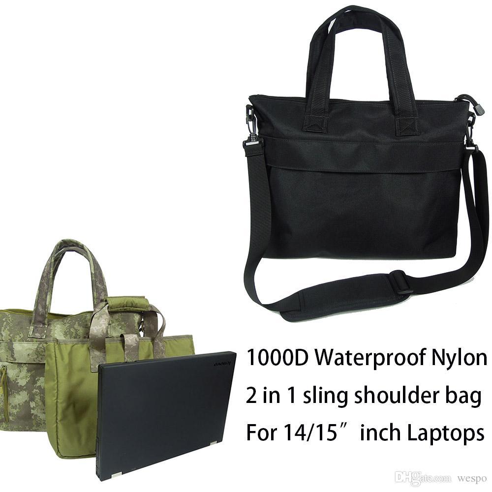 82c033606595 2019 Tactical Laptop Single Shoulder Designer Backpack For 14inch Laptops  Sling Shoulder Bag With 1000D Nylon And Padded Shoulder Strap From Wespo,  ...