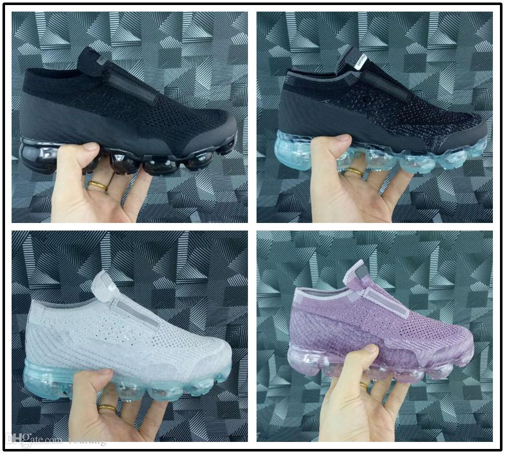 size 40 867d0 a8b1d Acheter Nike Air Max Airmax Vapormax 2018 Bébé Enfant Air Knitting Portable  Enfants Chaussures De Course Enfants 2018 Coussin Flair Chaussures De Sport  ...