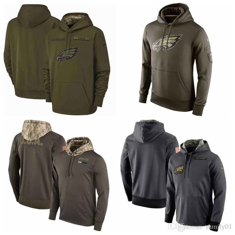 Men S Philadelphia Men Eagles Jersey Fashion Movement Olive Salute To  Service Pullover Football Hoodie 2018 2019 NEW Ivory Tuxedos Men Clothes  Styles From ... 81d5546cc