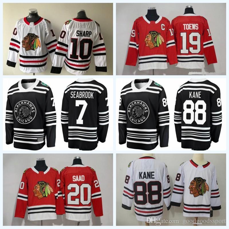 Hockey Chicago Blackhawks 2 Duncan Keith Jerseys 81 Marian Hossa 7 ... 1b8ae5d06