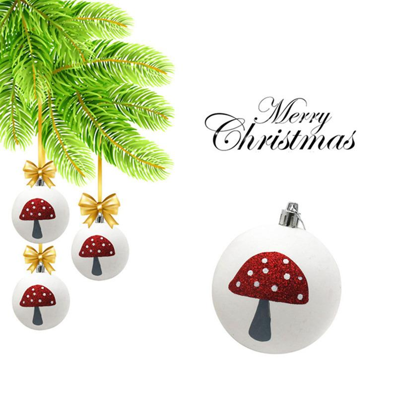 Pack Xmas Tree Decor Ornament Christmas Balls Baubles Abs Spheres