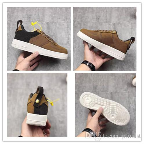 951af6bf36a 2019 New Release Carhartt WIP 1 Low Men Women Low Cut One 1 Casual Shoes  Dark Brown Dunk Sports Skateboarding Shoes Mens Sneakers Basketballs From  Ptmdst