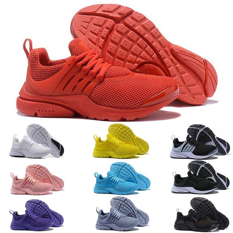 arrives 45480 d3fef Presto 5 V Running Shoes Women Presto Ultra BR QS Triple Black White  Athletic Trainers Red Yellow Prestos Sports Designer Men Sneakers