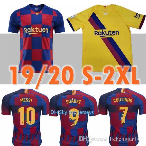 huge discount 825d0 3deab 19 20 messi soccer jersey barcelona 2019 2020 Camiseta de futbol coutinho  football shirt suarezcamisa de futebol dembele maillot de foot