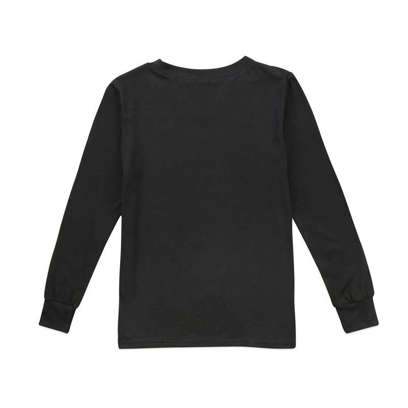 Рождество семья соответствующие топ футболка одежда осень женщины девочка мальчик дети печати хлопок толстовки футболка блузка Рождественская одежда