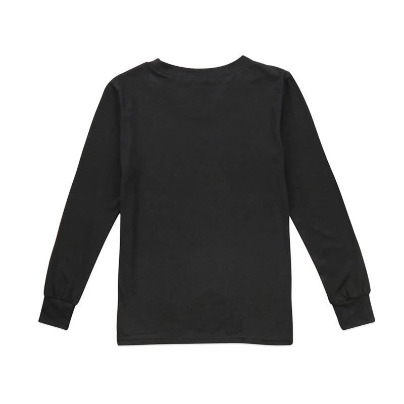 Weihnachten Familie Matching Top T-Shirt Kleidung Herbst-Frauen-Baby-Jungen-Kinder Drucken Baumwollhoodies T-Shirt Bluse Weihnachtskleidung