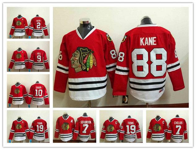 2019 2018 Chicago Blackhawk Men Ice Hockey Jersey 88 Patrick Kane Blackhawks  Jersey 19 Jonathan Toews Red Mens Hockey Jerseys Good Quality From  Bellinger 01917a228757d