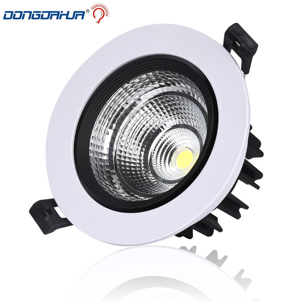 Friendly 1pcs High Power Cob Led Downlights 10w 20w 30w Surface Mounted Dimmable Led Ceiling Lamps Spot Light Square Rotation Ac85-265v Downlights Ceiling Lights & Fans