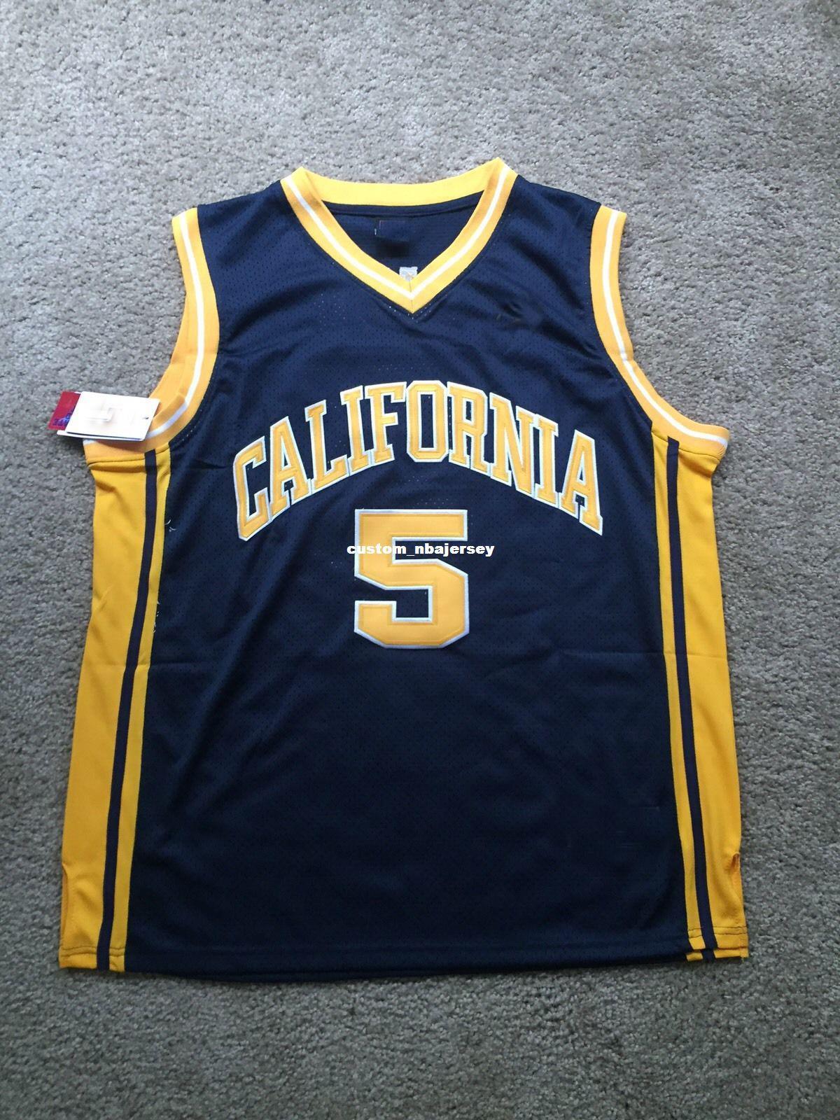 5c05e31d9e3 2019 Cheap Custom Vintage Jason Kidd California Golden Bears NCAA  Basketball Jersey Stitch Customize Any Number Name MEN WOMEN YOUTH XS 5XL  From ...