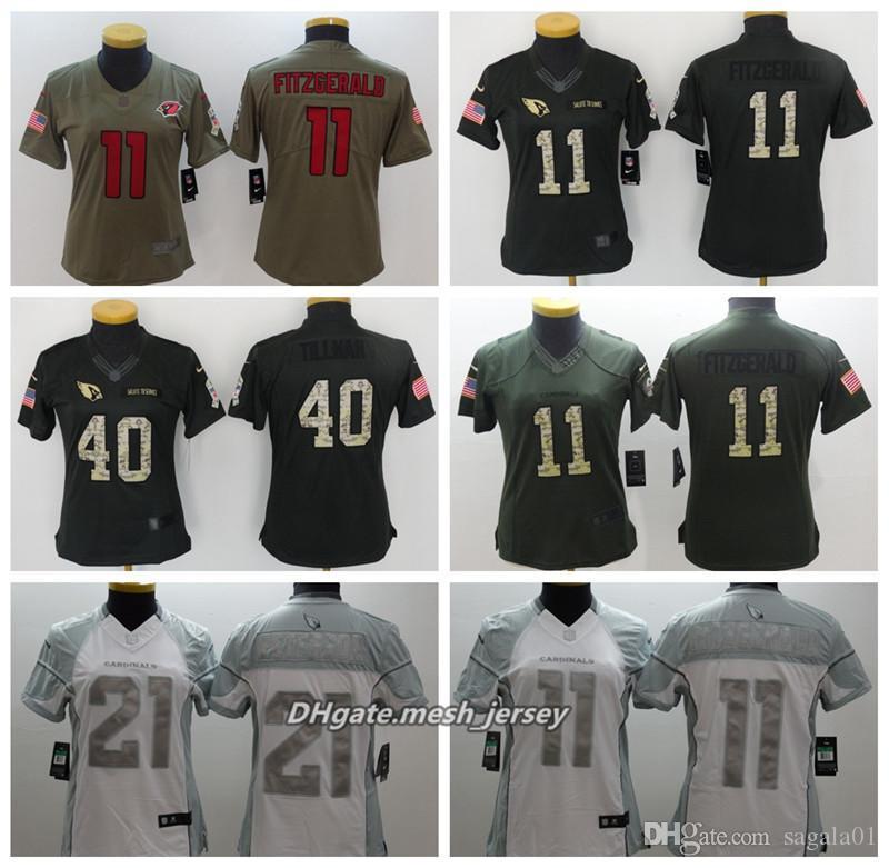 ... peterson nike black color rush legend jersey 40bf4 fc101  new zealand  2019 women arizona american football cardinals jersey 11 larry fitzgerald  40 pat ... 8d552aee5