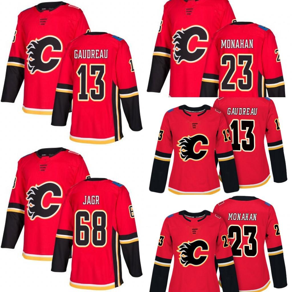 reputable site 35565 0bb6a men women youth 68 Jaromir Jagr Jersey 13 Johnny Gaudreau Mark Giordano 23  Sean Monahan Calgary Flames Jersey Blank Hockey Jerseys stitched