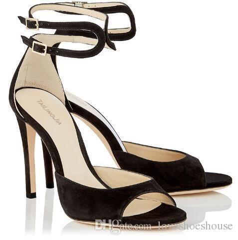 ac3fe5468d Compre Sexy2019 Mulheres Peep Toe Sandálias De Salto Alto Rosa Stiletto  Dress Saltos Calcanhar Capa Elegante Nudismo Sapatos De Casamento Tamanho  Grande ...