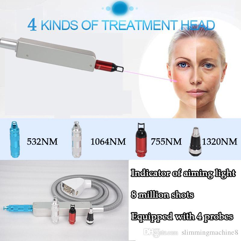 Nd yag laser tattoo removal equipment q switch nd yag laser machine picosecond laser marking spot mole tattoo removal