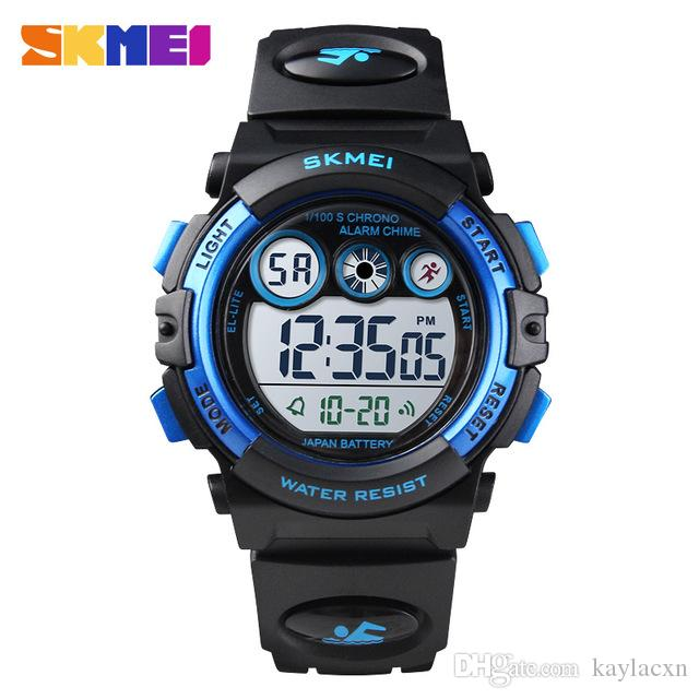 Skmei Brand Led Bracelet Watch Sports Mens Watches Waterproof Calendar Student Wristband Digital Childrens Wristwatch Relogio Children's Watches