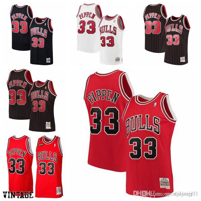 a3a5c1f8858 2019 2019 33 Pippen Bulls Jersey The City Chicago 33 Pippen Basketball  Jersey NEW From Xabi alonso