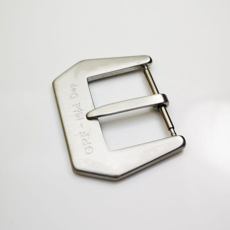 2925e5b419 Großhandel 26mm Mode Gute Qualität Silbrig Gebürstet GPF Mod Dep  Dornschließe Für PAM Gummi Lederband Strap Von Galen_chou, $17.24 Auf  De.Dhgate.