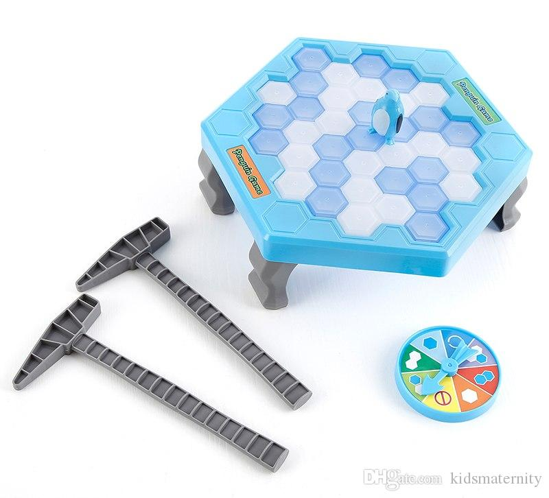 Board Game Save Penguin Icebreaker Demolition Wall Chisel Ice Toys Early Childhood Education Desk Puzzle Game Beat Penguins