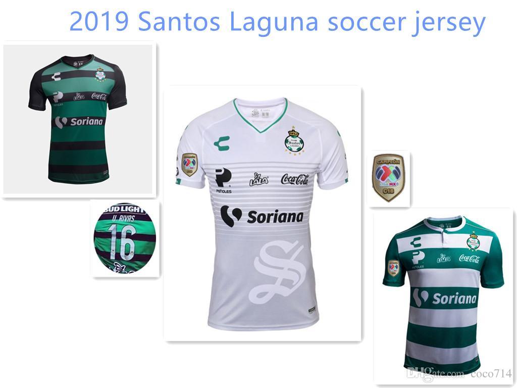 wholesale dealer 9742e 2c0f4 new 2018 2019 Santos Laguna soccer jersey 18 19 home away 3rd Santos  camisetas Mexico Liga jerseys Furch Djaniny Sánchez football shirts