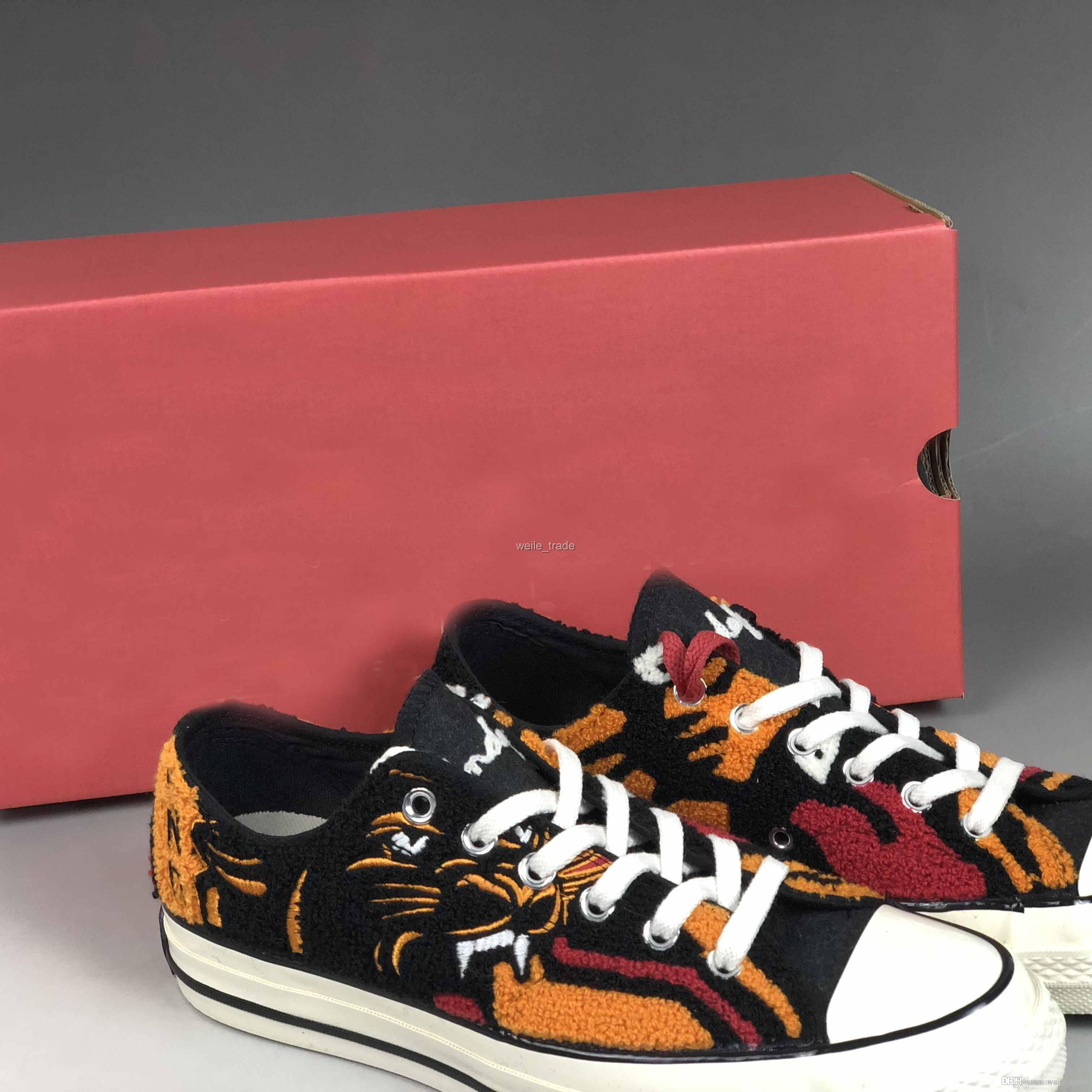 ada8142d5e85 2019 New Undefeated X Chuck 1970 Ox Low Casual All Star Fashion Taylor  Tiger Canvas Designer Women Mens Trainers Shoes Sneakers 35 44 Formal Shoes  For Men ...