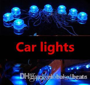 19 Random flicker Car Chassis lamp Flash decorative lights Unique Personalized design Apply to all cars ZY-612 On sale