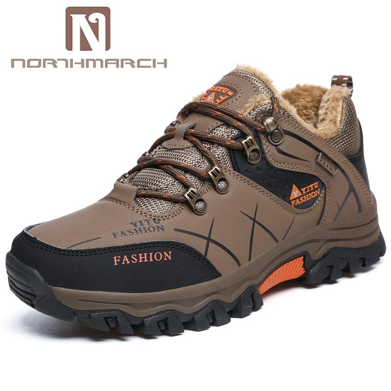 bbc12143bf6b NORTHMARCH 2018 Mens Fashion Shoes Man Sneakers Comfort Outdoor Walking  Casual Shoes Men Scarpe Uomo Invernali Botte Hiver Homme Shoes For Sale  Cheap ...