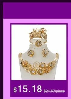 BAUS Wholesale 2017 new Jewelry Sets big Necklace Earrings Dubai Gold Jewelry Set Fashion African Yellow Golden Plated Chokers