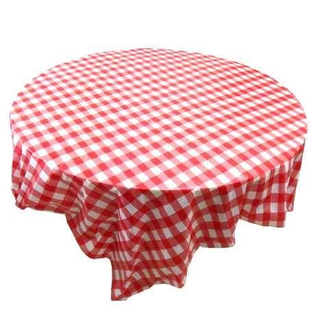 10 lot Checkered Plastic table cloth Party Black White Checker Reusable PICNIC