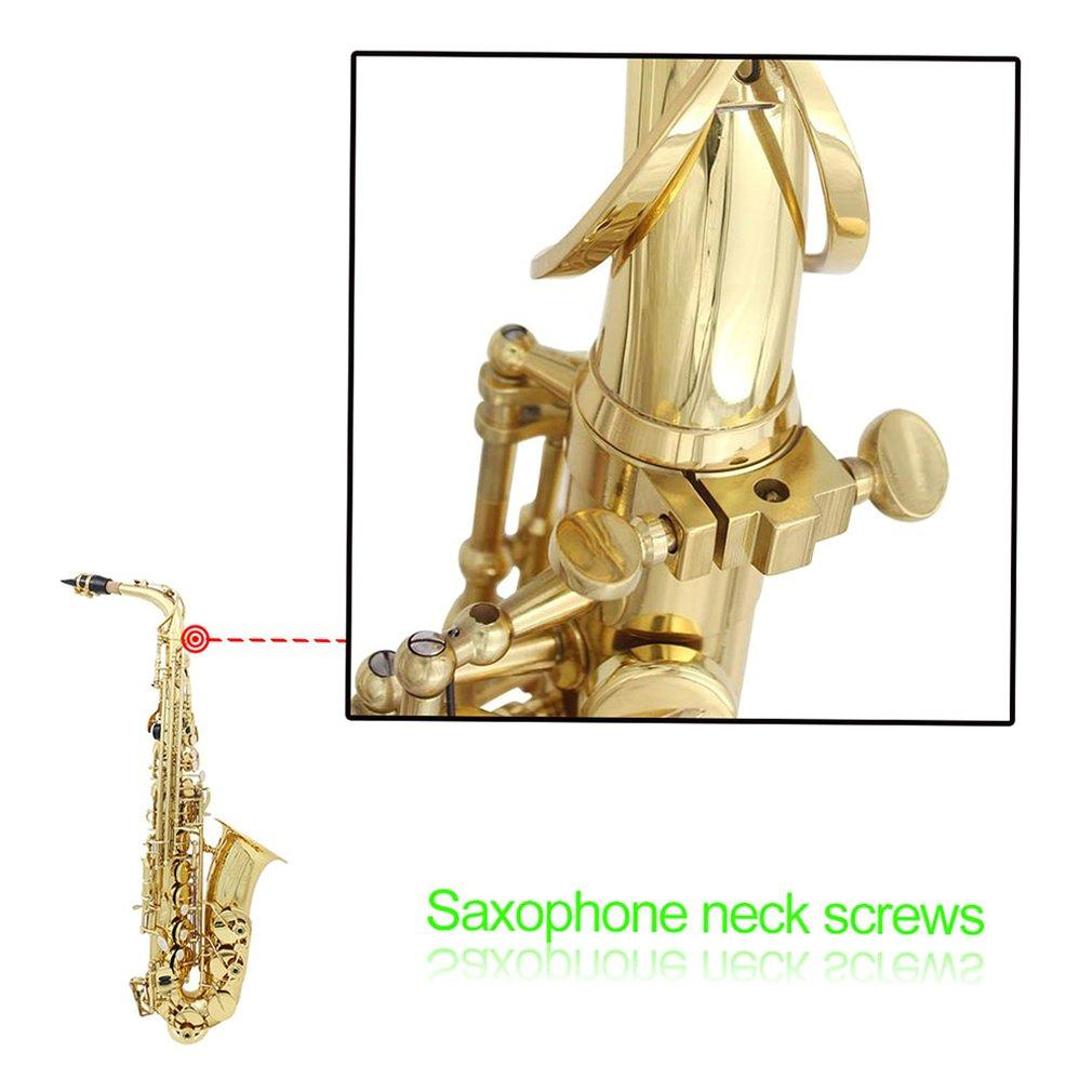 Saxophone Neck Screw Flat Replacement Screws Musical Instrument Accessories