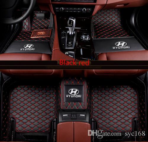 2019 The Car Floor Mat For Hyundai Kona 2018 Luxury Customized Car