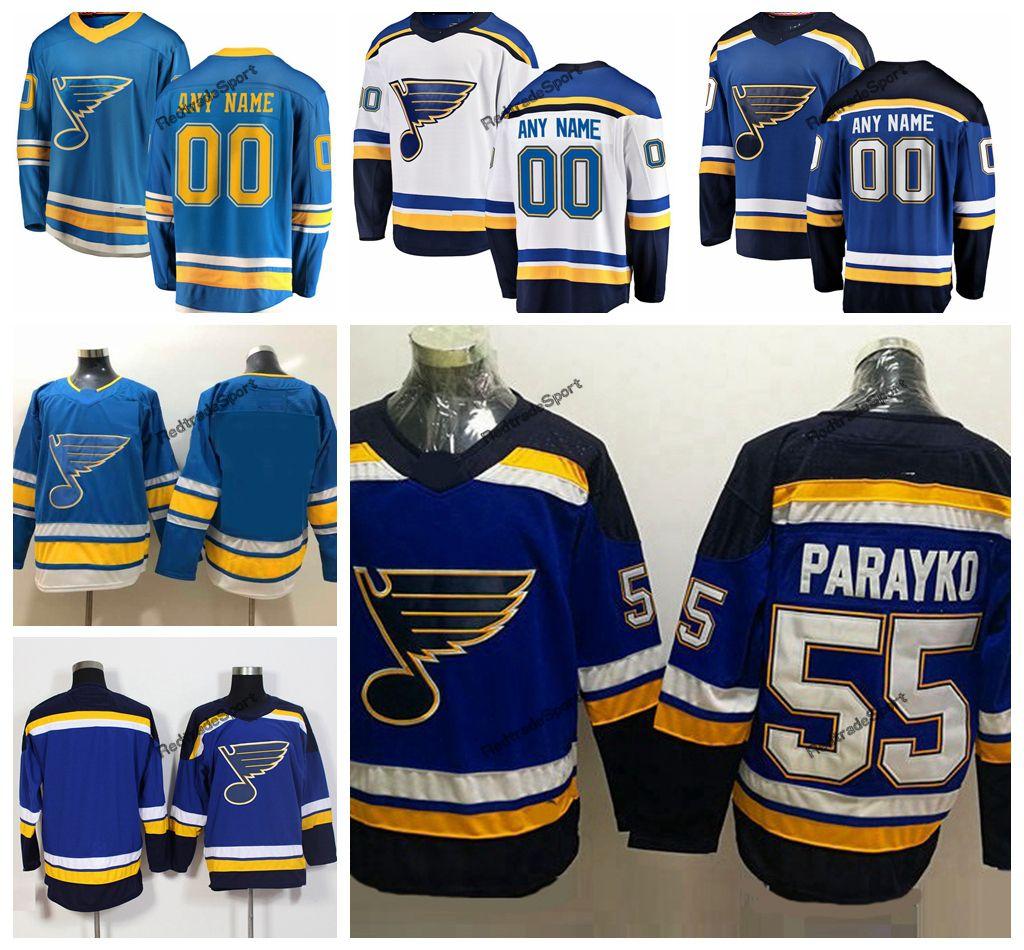 2019 2019 New Alternate Baby Blue Custom Colton Parayko St. Louis Blues  Hockey Jerseys Cheap 55 Colton Parayko Navy Blue Stitched Shirts From  Redtradesport e806f4ee6