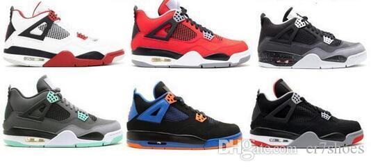 106f1de089bfa0 Wholesale White Cement 4s Fire Red 4 Green Glow Oreo FEAR TORO BRAVO ...