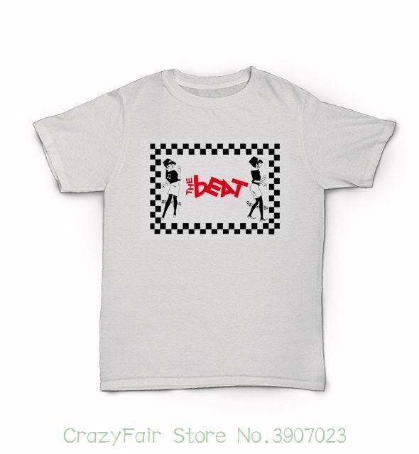 39d95c70c72 The Beat T-shirt - British Ska Band English Reggae - I Just Can t Stop It  Men s Fashion Black Cotton
