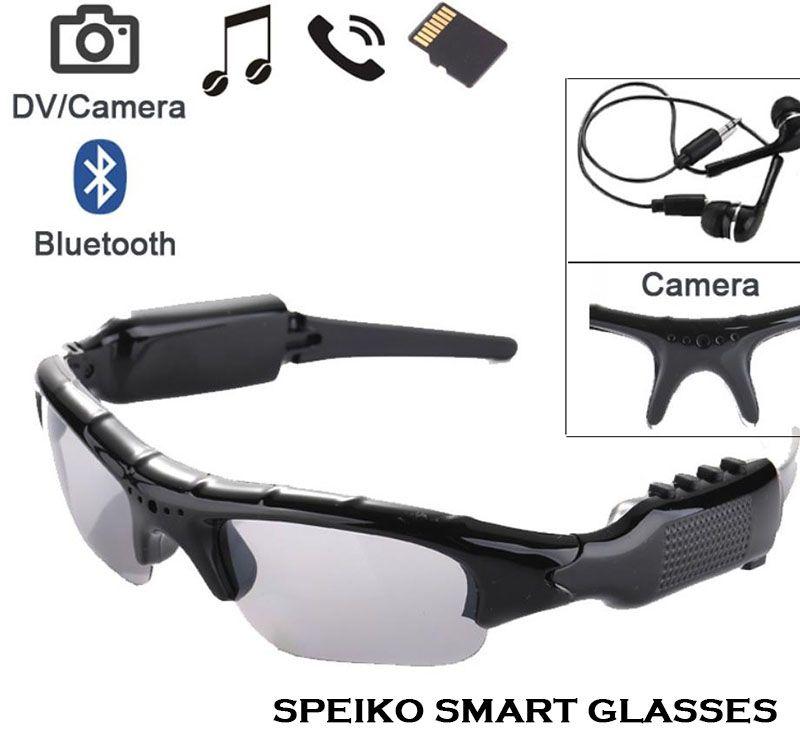 4849a0c6a8 SPEIKO Bluetoosh DV Glasses Sport Glasses Smart Eyewear Camera MP3 Music  Glasses Photo 363 362 Cycling Goggles With Porlarized UV400 Lenses Police  ...