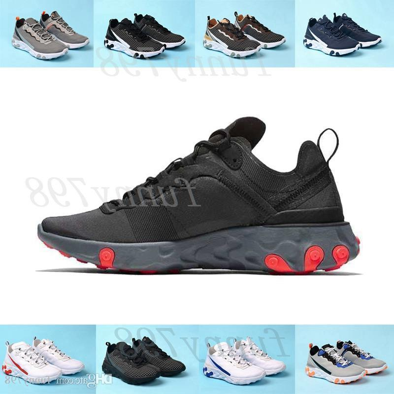 2019 Chaussure Best Mens Trainers React Element 55 Undercover X Upcoming Designer Sports Shoes Men Women Sneakers Shoes