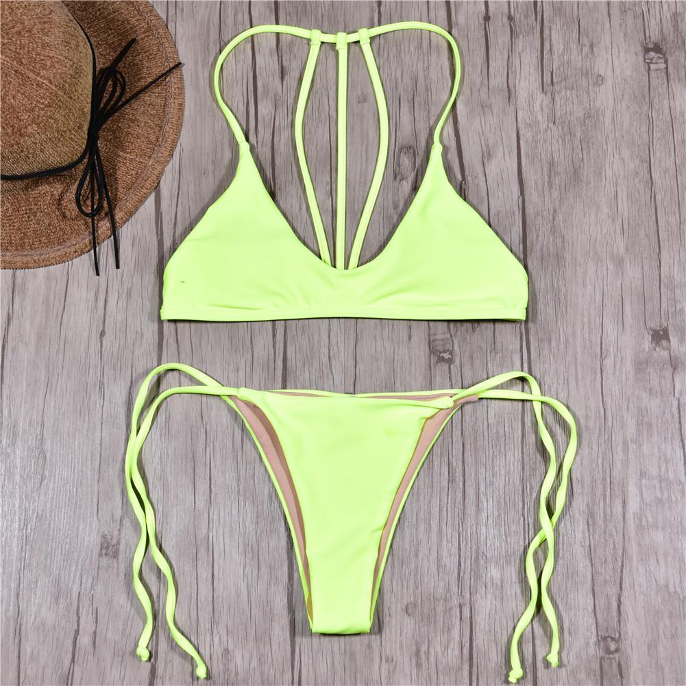 b49e78c473d3f Brand Swimwear Women Swimsuit Sexy Push Up Micro Bikinis Set ...