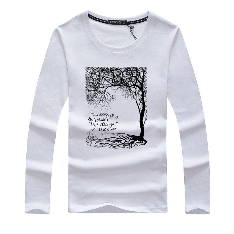 Larga Camisetas Masculinas Tops Swag Moda Para Manga Camiseta De 2019 Casual Delgada Camisas Hombres Hombre thQCBxdsr
