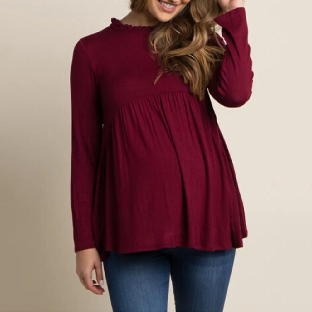 0f03aa0c0f5 Compre ropa de maternidad de telotuny para mujer embarazadas tops ropa marca  bebe para jpg 1000x1000