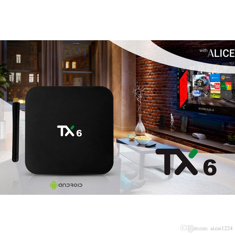 India IPTV Code TX6 Android 9 0 Smart TV Box 4G 32G/64G With IPTV  Sunscription Indian Pakistan Arabic Italy Turkish France Iptv