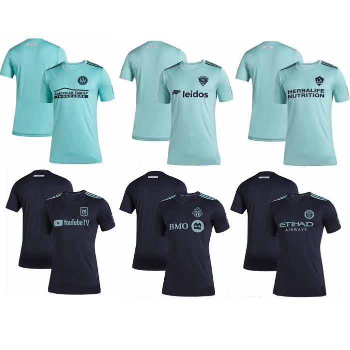 0aec05529 2019 Parley X 2019 2020 MLS ATLANTA UNITED LAFC LA GALAXY SEATTLE SOUNDER  NEW YORK CITY TORONTO DC Soccer Jersey Camisa De Futebol Football Shirt  From ...