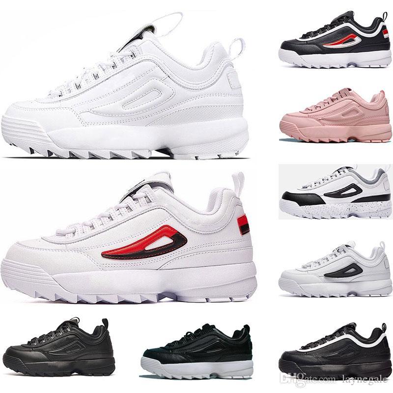 new products 56b11 8da51 scarpe di fila erkekler için 55 87 Classica Tripla Bianco Nero rosso da  donna da donna Huaraches Scarpe da tennis Huaraches sportivo Sneaker Scarpe  da ...